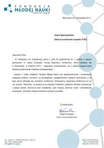 FMN Patronat EYEC 2015